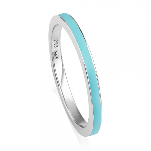VIVA Stacking Ring - Light Blue image