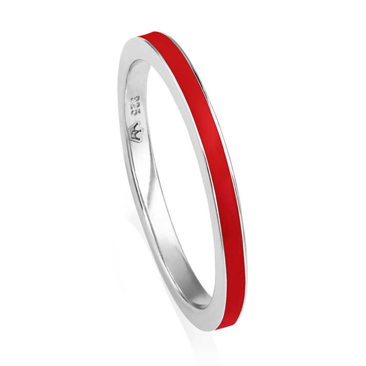 VIVA Stacking Ring - Red image