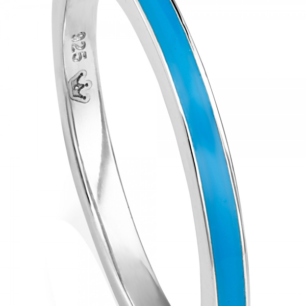 VIVA Stacking Ring - Dark blue zoom image