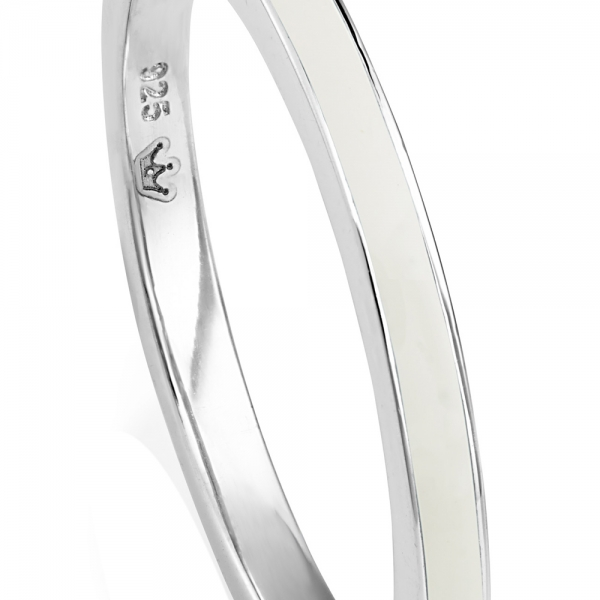 VIVA Stacking Ring - White zoom image