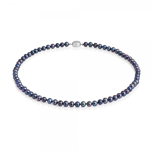 Mid-length 5.0-5.5mm Classic Freshwater Pearl Necklace image