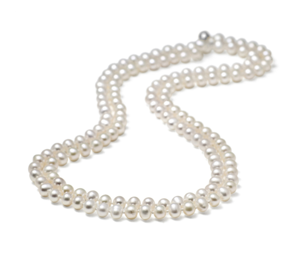 Long, 5.0-5.5mm Classic Pearl Necklace