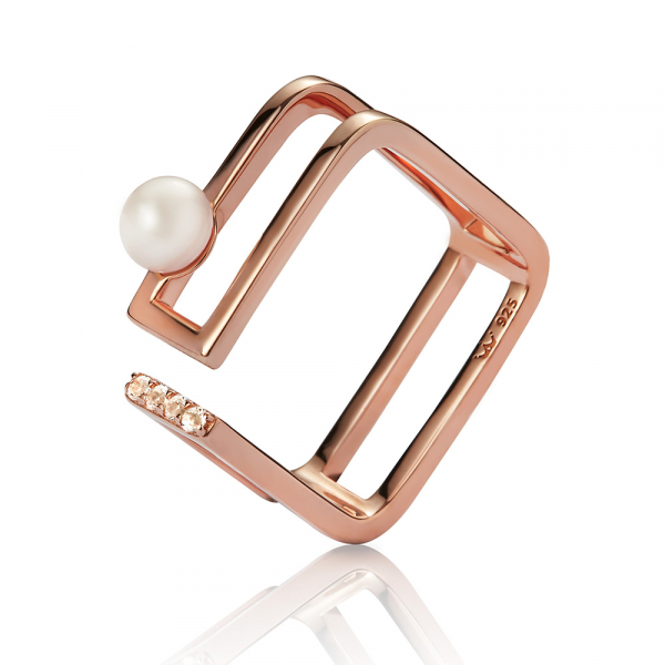 Ava Rose Gold Ring