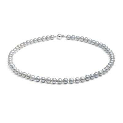 Mid-length, 7.0-7.5mm Classic Pearl Necklace