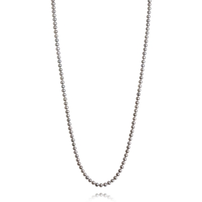 Long, 5.0-5.5mm Classic Freshwater Pearl Necklace