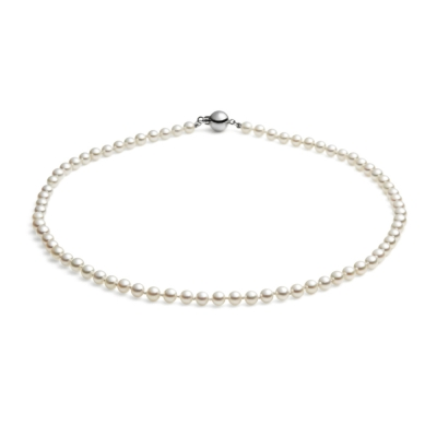 Mid-length, 5-5.5mm Akoya Pearl Necklace